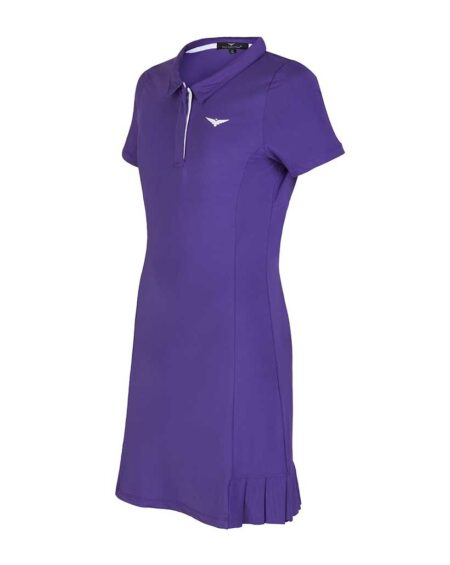 Girls Tennis Pleated Dress  Girls Golf Pleated Dress Purple