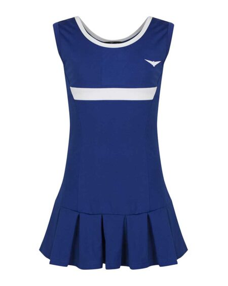 Girls Tennis Pleated Dress | Girls Golf Pleated Dress | Blue and White