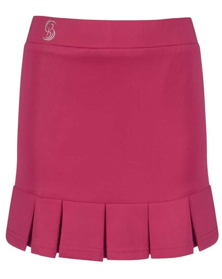 Girls Box Pleated Tennis Skirt | Girls Golf Skorts | Pink