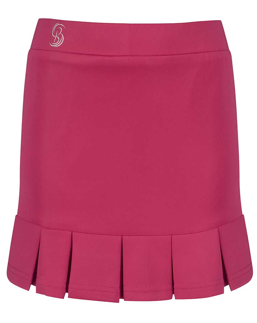 Girls Pink Pleated Tennis Skirts Junior Skorts Bace