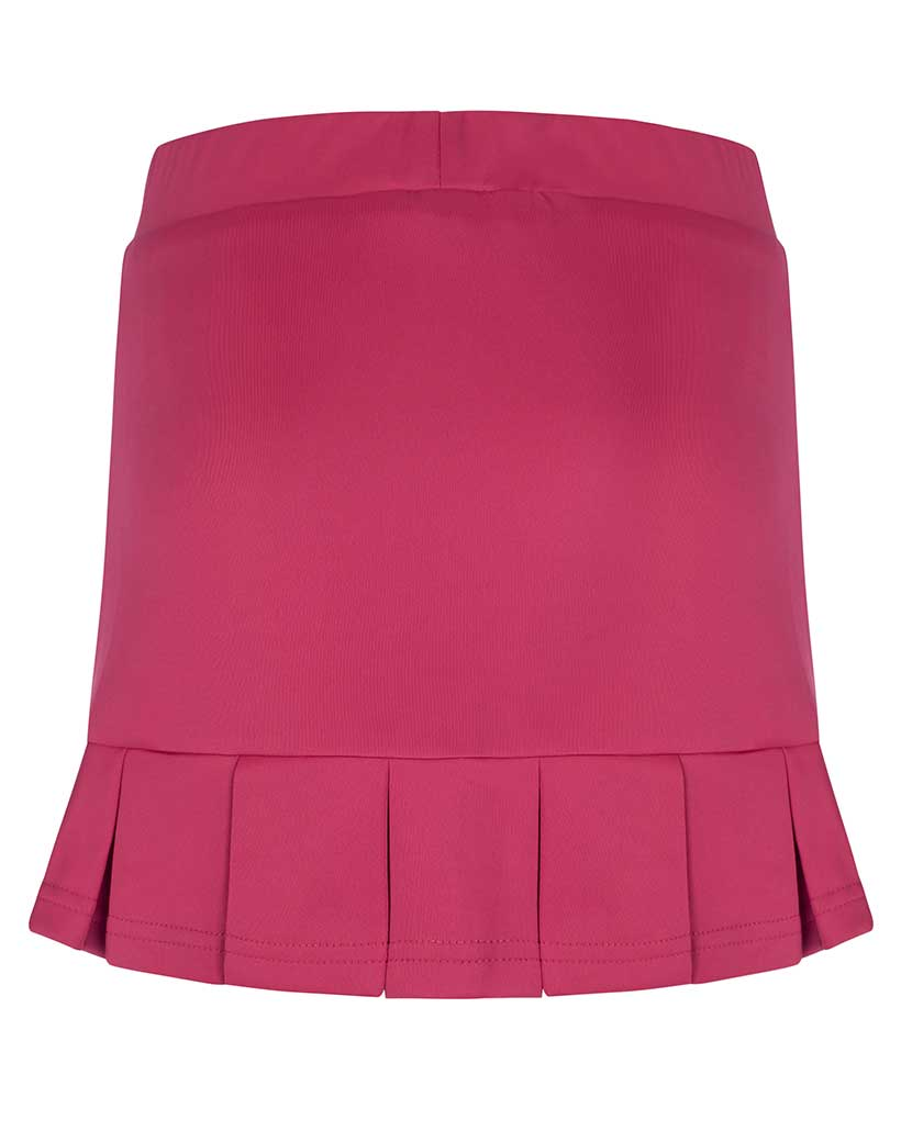 Girls Pink Pleated Tennis Skirts Junior Skorts Bace