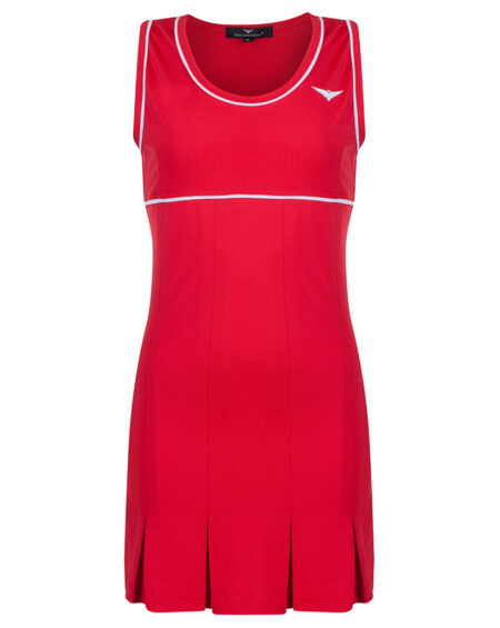 Girls Tennis Pleated Dress  Girls Golf Pleated Dress  Red and White