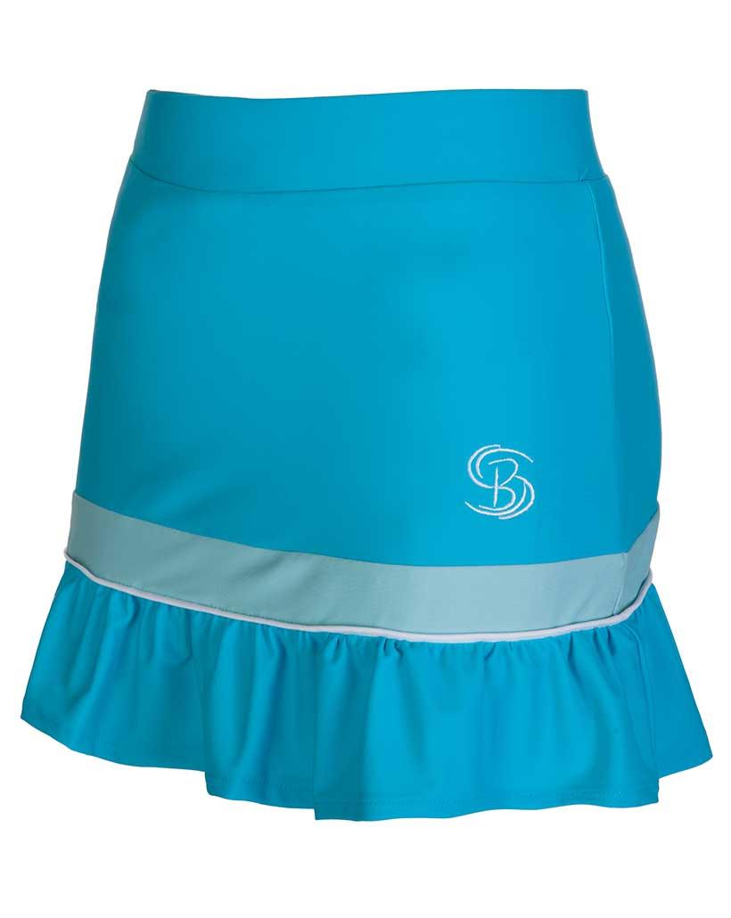 de8f91d77d Girls / Women Blue White Tennis Skirts / Junior Skorts | Bace Sports ...