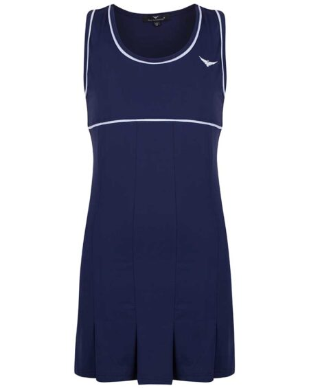 Girls Navy Blue Tennis Dress