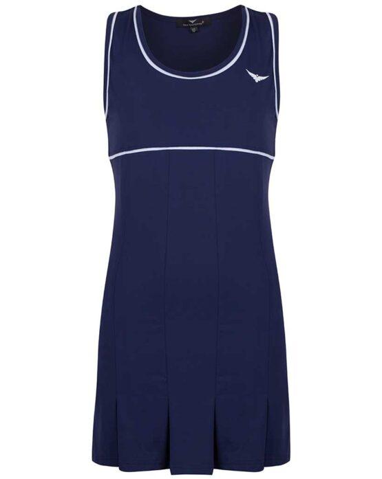 Girls Navy Blue Tennis Dress