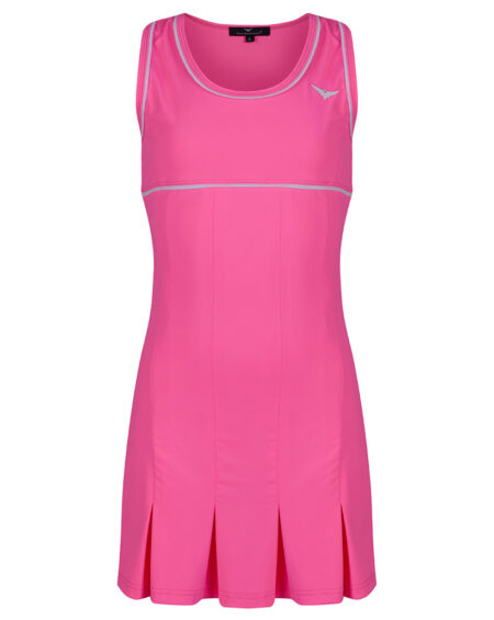 Girls Tennis Pleated Dress | Girls Golf Pleated Dress | Pink