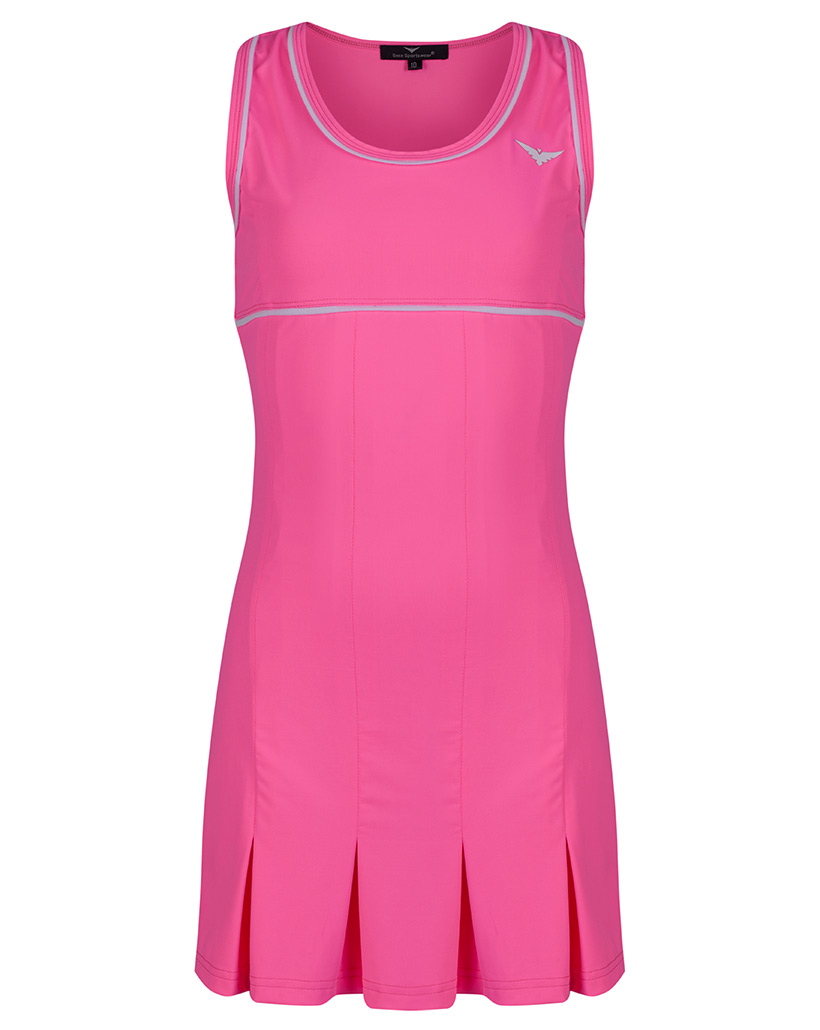 Girls Pink Pleated Tennis dress / Golf dress | girls ...