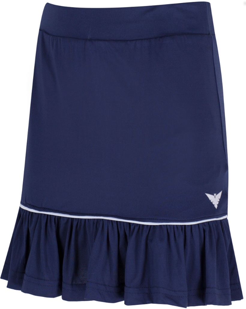 Girls Navy Blue Tennis Skirt Skort Junior Tennis Skirt