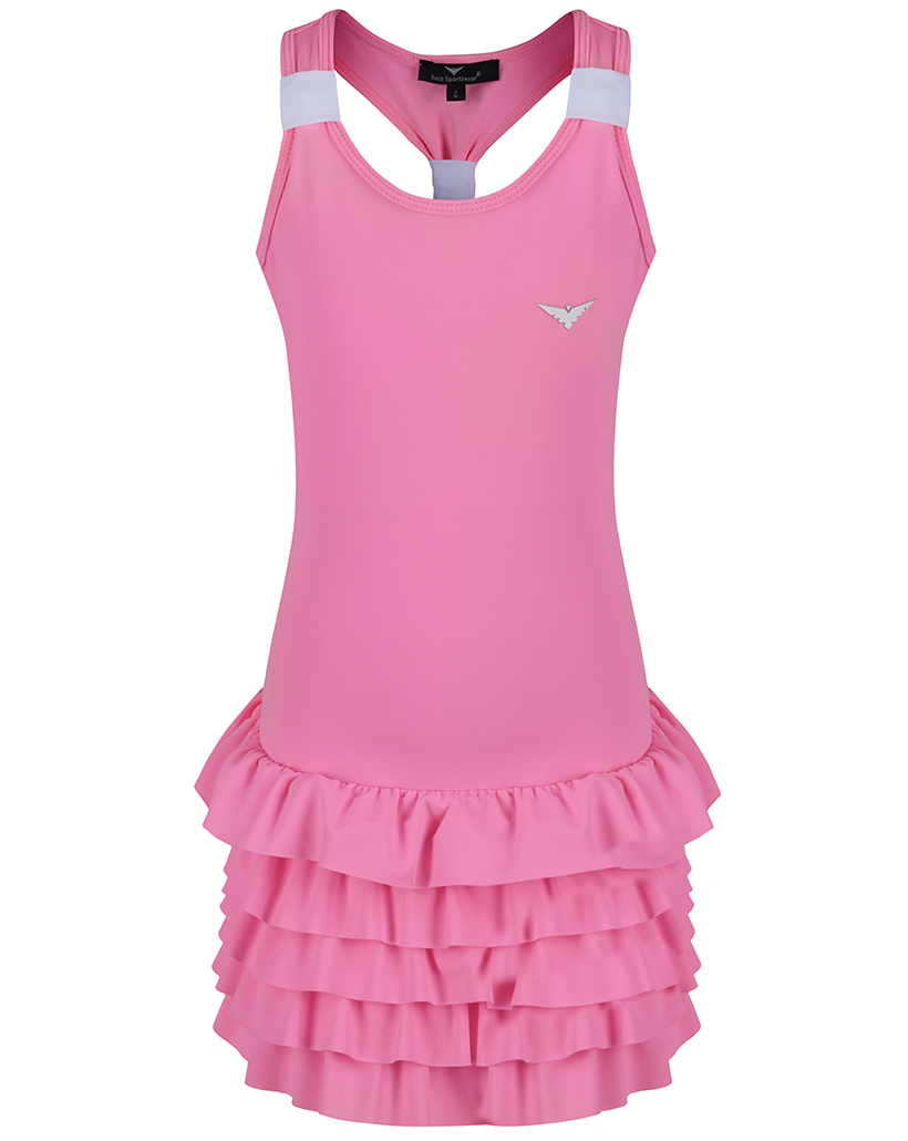 Girls Pink Tennis dress / Girls Golf dress /Girls Tennis ...