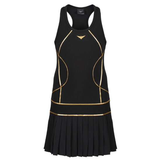 black tennis dress for girls