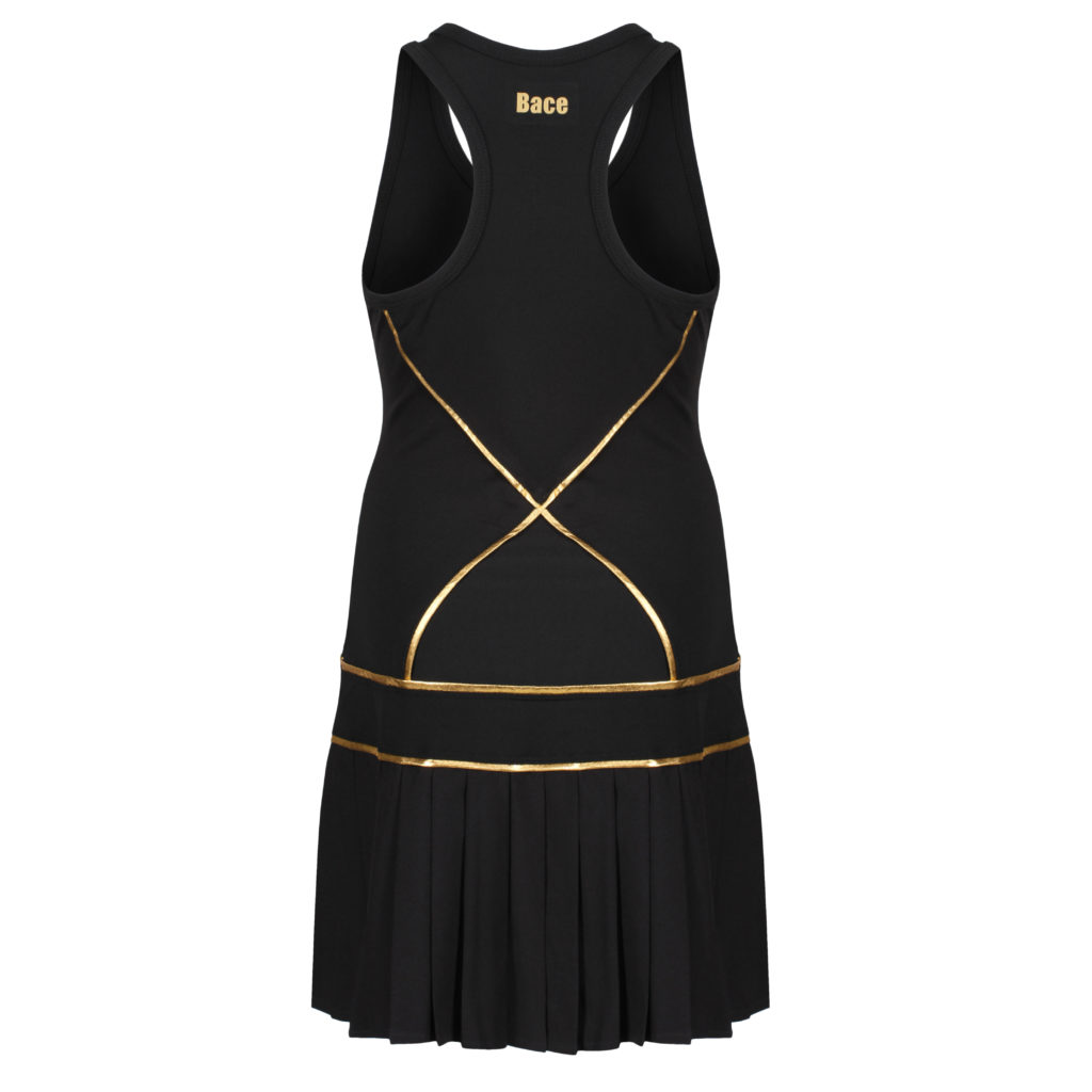 black tennis dresses for girls