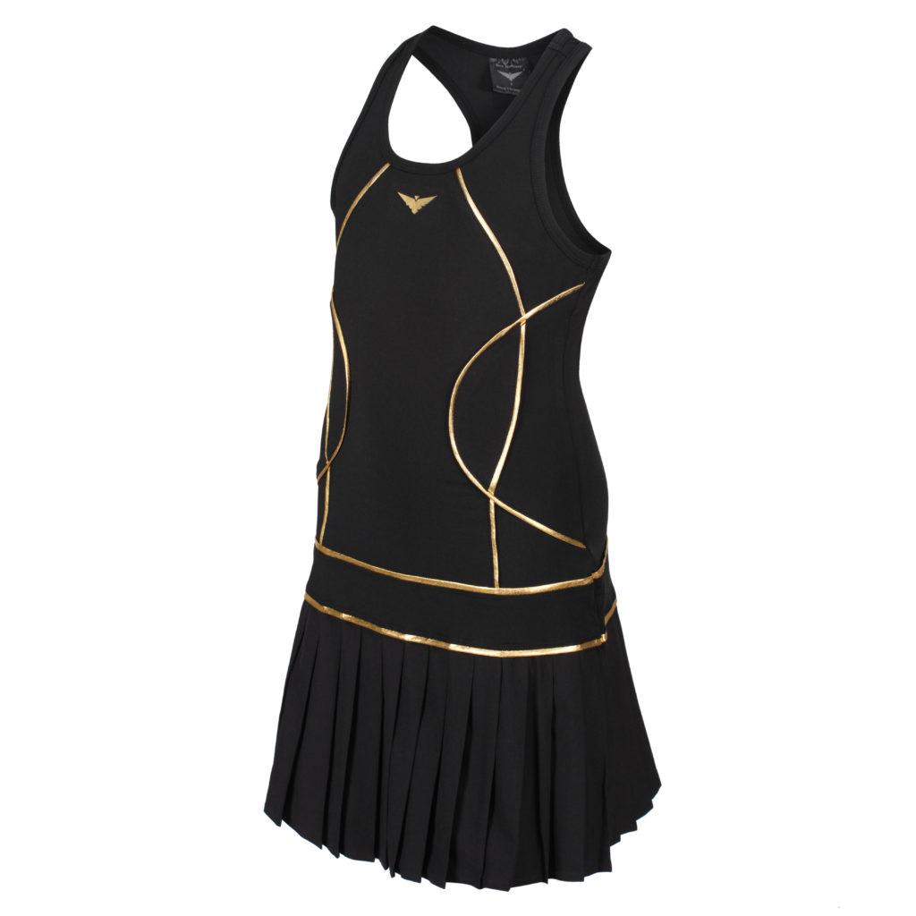 online black tennis dresses