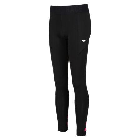 Black Tennis tights with ball pockets | Ball pocket tights | Black leggings | Tennis Leggings