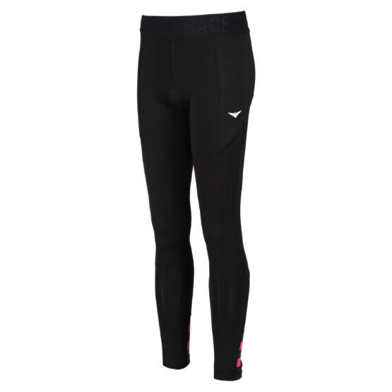 black tennis leggings